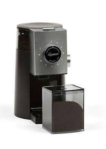Capresso® Grind Select Coffee Burr Grinder in Black/Silver | New Original Box