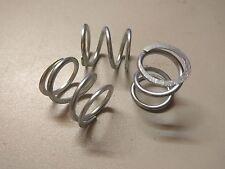 3 x Druckfeder - Spiralfeder - Feder   24 x 26mm - Stärke 2,5mm  Stahlfeder