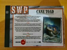 More details for sandwich wildlife park nocturnal animal sign (cane toad)