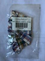 Longaberger Fabric Liner WT Plaid for XS Gatehouse Basket 2042328