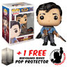 FUNKO POP VINYL ARMY OF DARKNESS ASH WITH NECRONOMICON #1024 EXCLUSIVE