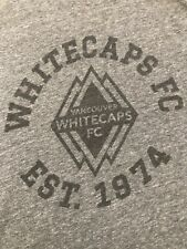 Vintage Junk Food Vancouver Whitecaps Fc Football /Soccer Club Men's T-shirt S