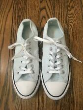 Converse Blue Metallic Sneakers Size 7.5