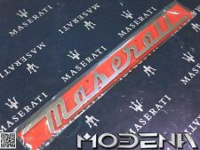 Maserati Schriftzug Trunk Emblem Sign Kofferraum Ghibli M157 Levante 31 cm