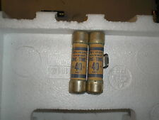 (LOT OF 2) SHAWMUT 40A ONE TIME FUSE