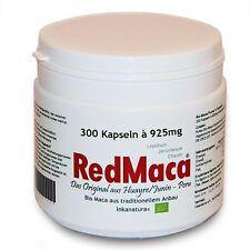 300 Stk. RED MACA® KAPSELN à 925mg  - rote MACA - ORIGINAL aus Peru - nkanatura™