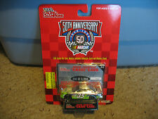 Nib Racing Champions Nascar 50th Ann. #35 Tabasco, with card and stand