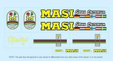 Masi Bicycle Decals-Transfers-Stickers #4