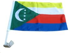 "12x18 Comoros Country Car Vehicle 12""x18"" Flag"