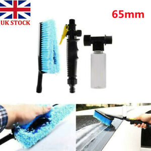 Car Wash Soft Brush Hose Adapter Truck Water Spray Cleaning Nozzle Set Car Care