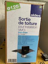 Sortie de Toiture VMC 125mm