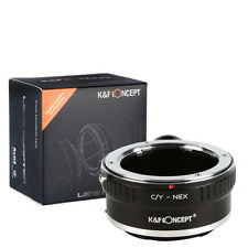 Contax Yashica C/Y Lens to Sony E Mount NEX-VG10 NEX3 NEX5 NEX-C3 Adapter Tripod