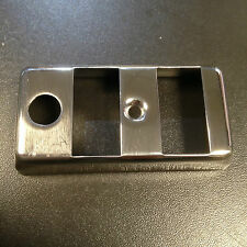 Light / horn switch cover in stainless steel for Vespa PX