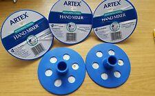 Dieci ARTEX mano strumenti di miscelazione. VERNICE TESTURIZZATA Mixer