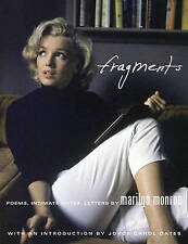 Marilyn Monroe: Fragments by HarperCollins Publishers (Hardback, 2010)