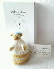 Deb Canham Miniature Anni Bear Ted E Bear Shop Exclusive LE 100