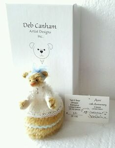 Deb Canham Miniature Anni Bear Ted E Bear Shop Exclusive LE 100