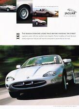 2001 2002 Jaguar Xk8 Convertible Original Advertisement Print Art Car Ad K02