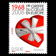 France 2008 - First Heart Transplant in Europe Science - Sc 3434 MNH