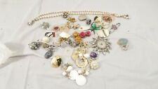Lot of Vintage Jewelry for Parts / Repair