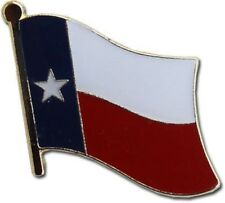 State of Texas TX Flag Bike Motorcycle Hat Cap lapel Pin