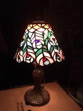 Vintage Tiffany Lámpara De Mesa De Trabajo