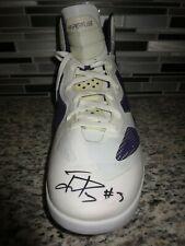 Jared Dudley 2011 Phoenix Suns NBA Game Usado Worn Nike Hyperfuse Zapato Firmado