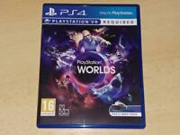 Playstation VR Worlds PS4 Playstation 4 (VR Required) **FREE UK POSTAGE**