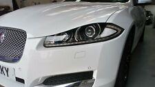Jaguar XF bumper fully painted.