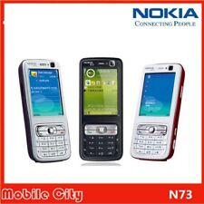Nokia N73 Bluetooth Teclado 3G cámara de 3.2MP Teléfono Celular 2.4 en Desbloqueado Original
