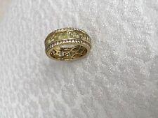 SONIA BITTON  18K Yellow Gold 5.09CTW Diamond & Yellow Tourmaline Ring