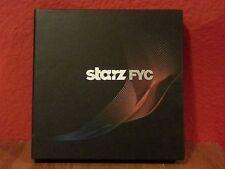 Starz 2013 Emmy FYC 2 DVD Box Set DaVinci's Demons & Spartacus