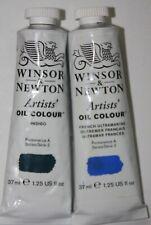 Winsor & Newton Oil Paint-Indigo & French Ultramarine-Series 2