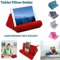 Tablet Pillow Foam Holder Stand Book Rest Reading Bed Support Cushion For iPad
