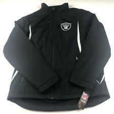 NFL Oakland Raiders Mens G-III Polyester  Jacket Black Large NWT