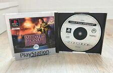 RaR PS1 Game: Medal Of Honor Underground  (Sony PlayStation 1, 2000)Sammlerspiel