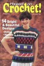 Hooked on Crochet Magazine #16 Waterlily Afghan, Arizona Sunset, Tulip Garden