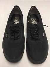 Vans Era Classic Black On Black Shoes Size: Men's US 8.5 Women's US 10