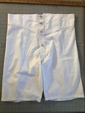 Vintage Mens Underwear 1937 Patterned Boxer Drawers - Handmade To order. Custom