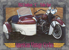 American Vintage Cycles Skybox Promo Prototype 1941 Indian 4 Side Car