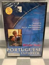 The Rosetta Stone Portuguese Explorer CD-Rom NEW Sealed Windows XP