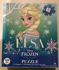 Disney Frozen Series Puzzle Elsa with Snowflakes 48 Pc Age 6+ NEW