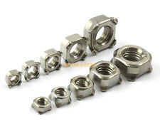A4 Stainless Steel DIN 928 Square Weld Nuts M6-1.0 Metric 800 pcs