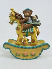 San Francisco Music Box Company Rocking Horse Rock A Bye Baby Express Giraffe