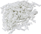 BQLZR White Unpainted Architectural 1:100 Scale Model Figures Pack of 100