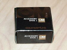 OLYMPUS OM ACCESSORY SHOE 1 FOR OM-1 OM-2 NEW IN  BOX