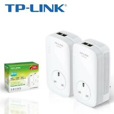 TP-Link PA9020p Powerline Adapter Starter Kit Band Gigabit Dual 2 Port Twin Pack