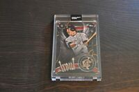 MIKE TROUT TOPPS PROJECT 2020 #51 2011 Update Ben Baller Variation-LIM ED-SP
