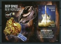 Micronesia Stamps 2015 MNH NASA Deep Space New Horizons Kuiper Belt 1v S/S