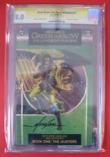 CGC 8.0 Green Arrow Longbow Hunters #1 signed Mike Grell 1st Shado DC Comics